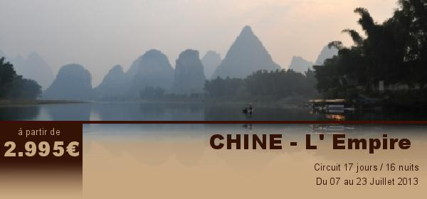 CHINE - L' Empire
